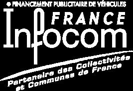 Infocom France, véhicule publicitaire neuf